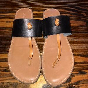 Merona 2 color slip on shoes